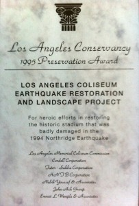 1995 LA Conservancy Award