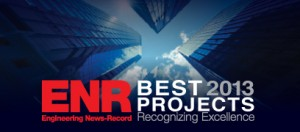 2013 Engineering News Record Merit award For Cultural Projects