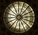 1913 stained glass skylight 2